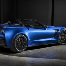 The Corvette Z06 Convertible gets at least 625hp from the supercharged 6.2-litre V8 engine