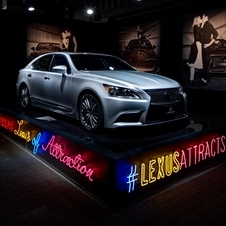 Lexus unveiled the new LS last night in San Francisco, California