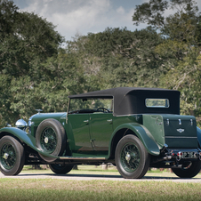 Bentley 8-Litre Open Tourer by Harrison
