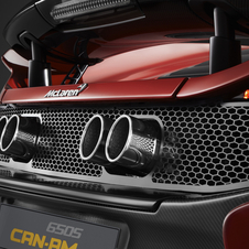 A four-point exhaust system is another unique feature of the 650S Can-Am