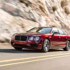 Bentley Flying Spur V8 S has an average consumption of 10.9l/100km and 254g/km of CO2 emissions