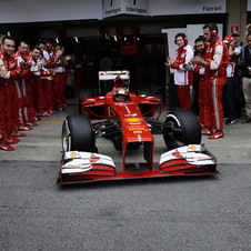 Ferrari is trying to learn from its mistakes while improving in 2014