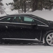 Cadillac was testing the ELR in extreme weather
