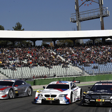 Audi Demos A5 DTM at Final DTM Race