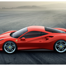 The new Ferrari 3.9-liter V8 engine that powers the 488 GTB has a 670hp output and 760Nm of torque