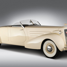 The 1934 Roadster is especially attractive