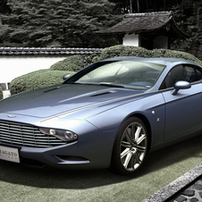 The coupe is inspired by the DB7 Zagato