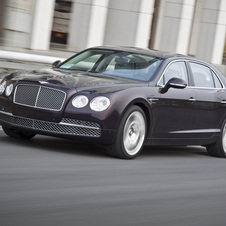 Bentley is about to debut the Continental Flying Spur sedan