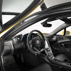 The interior will be subject to bespoke tailoring by McLaren Special Operations
