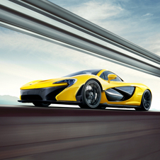 The P1 produces over 900hp from its V8 and electric motor