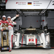 Audi will continue to race with two cars in the WEC for the rest of the season