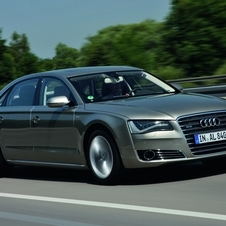 The A8 will come standard with the ContiSilent tires in the near future