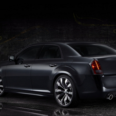 In China, the 300C will use the 3.6l Pentastar V6 and eight-speed automatic gearbox