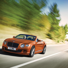 The extra dynamic performance of the Continental flagship model is complemented by a more distinctive look