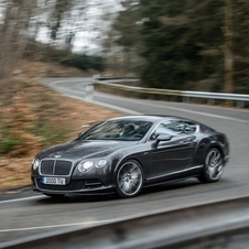 Bentley GT Speed Coupé reaches a top speed of 331km/h