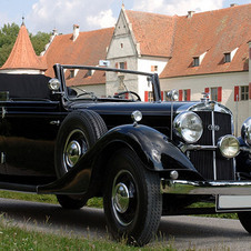 Horch Type 850 convertible