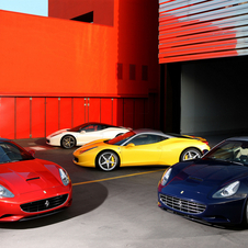 Red slips down the colour chart at Maranello