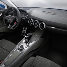 The interior design is taken from the new TT