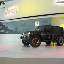 The Dragon Design Concept previews the Wrangler Rubicon available later this year in China