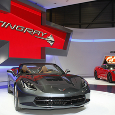 The Corvette was voted North American Car of the Year