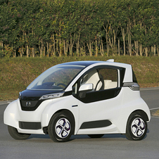 The electric commuter is meant to fufill a proposed new Japanese car class