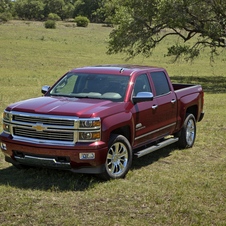 The Silverado won North American Truck/Utility of the Year