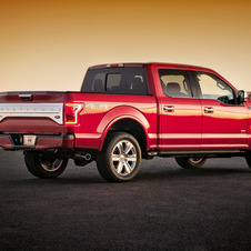 Ford F-150 5.0 Platinum AWD
