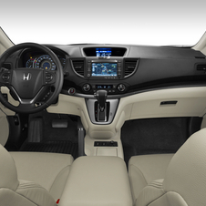 Honda also says that the interior has a little more room than previously