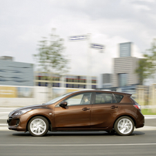 Mazda 3 Getting Facelift for 2012