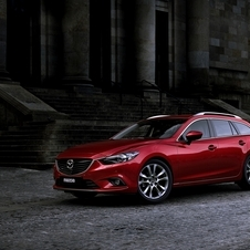 The Mazda6 range will have three engines at launch - a diesel and two petrol engines