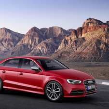 The S3 gets a new front bumper, air intakes and door mirrors