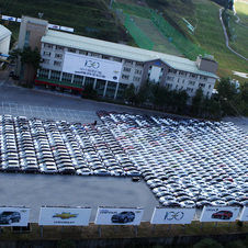 GM Korea Wins Guinness Record for World's Largest Car Logo