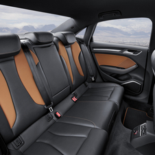 The standard A3 will be available with a variety of interior fabric options