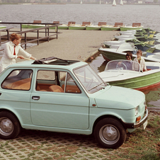Fiat 126 sunroof version