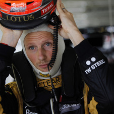 Grosjean raced for Renault in 2009