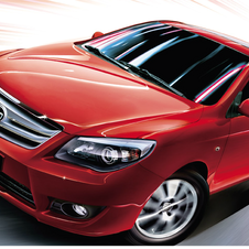Pictured is the BYD L3, which is a version of the F3 with more features