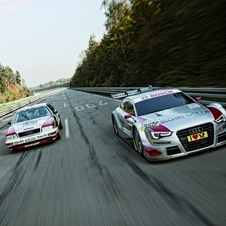 The new A5 DTM with the Audi V8 DTM