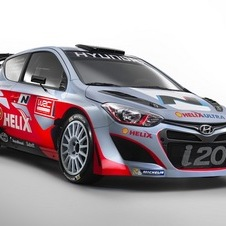 The i20 WRC will make its rally debut in January