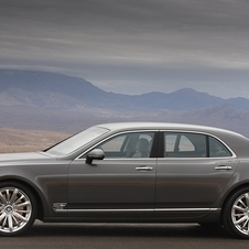 Bentley Revealing Mulsanne Mulliner Driving Specification at Geneva