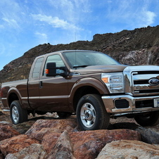 Ford F-Series Super Duty F-250 158-in. WB Lariat Styleside SuperCab 4x4