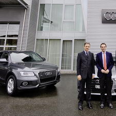 Audi will be the official car of the IOC through 2016