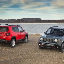 The design of the new Renegade is strongly inspired on the more traditional lines of the Wrangler