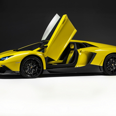 The car gets a special May Yellow color inspired by when Lamborghini was founded