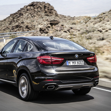 At launch, the new generation of the BMW X6 will provide a range of three engines, one petrol and two diesel