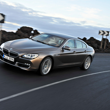 BMW 640d Gran Coupe