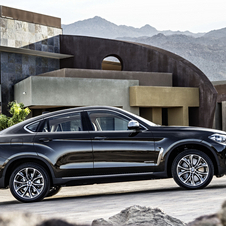 The new X6 hits the market in December