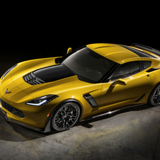 The Z06 gets a supercharged 6.2-liter engine that will have at least 625hp