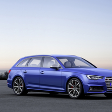 The new S4 Avant now features 354hp and 500Nm of torque