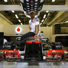 Hamilton put in a dominate performance at Yas Marina