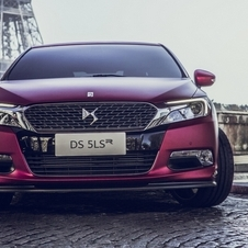 The DS 5LS R is equipped with a 1.6 liter engine with 300hp and 400Nm of torque